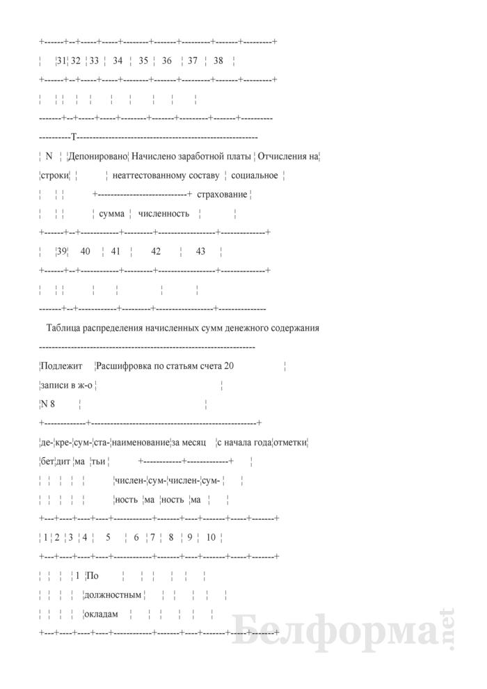 Разработочная таблица. Страница 4