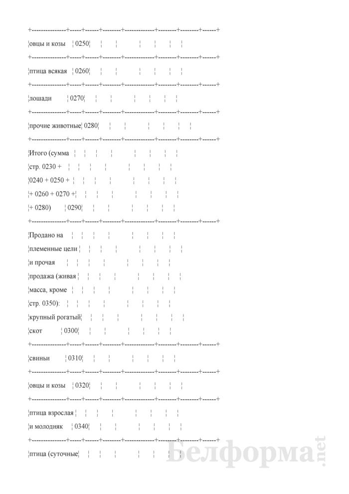 Реализация продукции (Форма 7-АПК). Страница 5