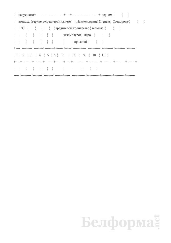 Штабельный ярлык на зерно (Форма № ЗПП-78). Страница 2