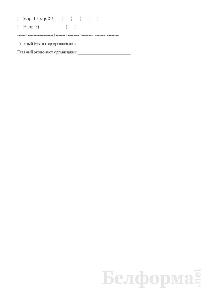 Смета расходования средств на потребление в 2008 году. Страница 4