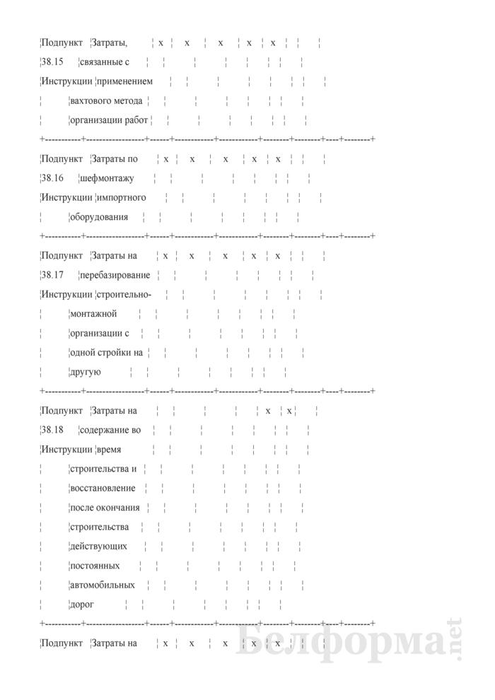 Сводный сметный расчет стоимости строительства (очереди строительства). Страница 10