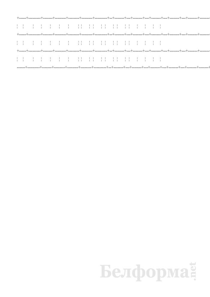 Технологический журнал производства коньяков (Форма П-10 (вино)). Страница 3