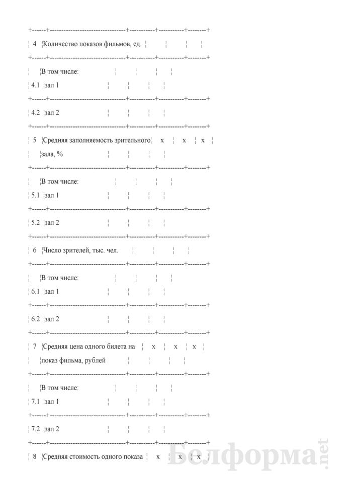 Данные об основных показателях, доходах и расходах (Таблицы 3). Страница 2