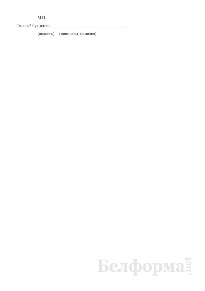 Отчет о размещении средств фонда страховых гарантий по обязательному страхованию гражданской ответственности владельцев транспортных средств Белорусского бюро по транспортному страхованию. Страница 4