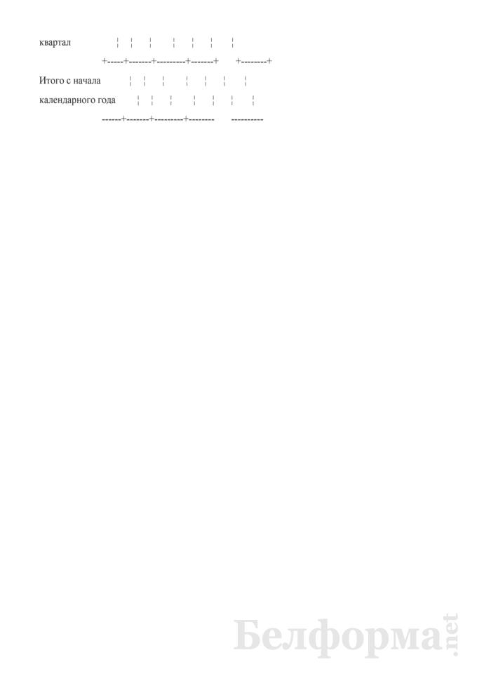 Книга учета доходов и расходов. Страница 2
