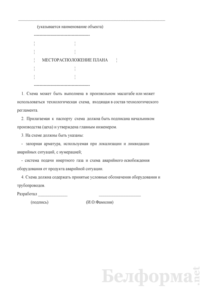 Паспорт пожарной безопасности. Страница 12