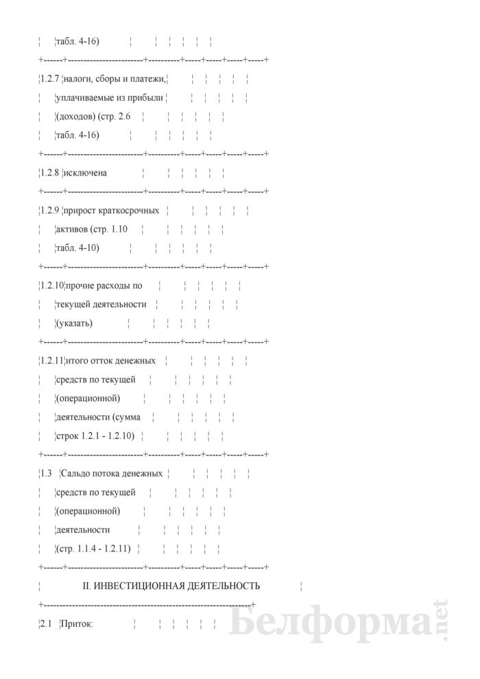 Расчет потока денежных средств по организации (при разработке бизнес-планов инвестиционных проектов). Страница 3