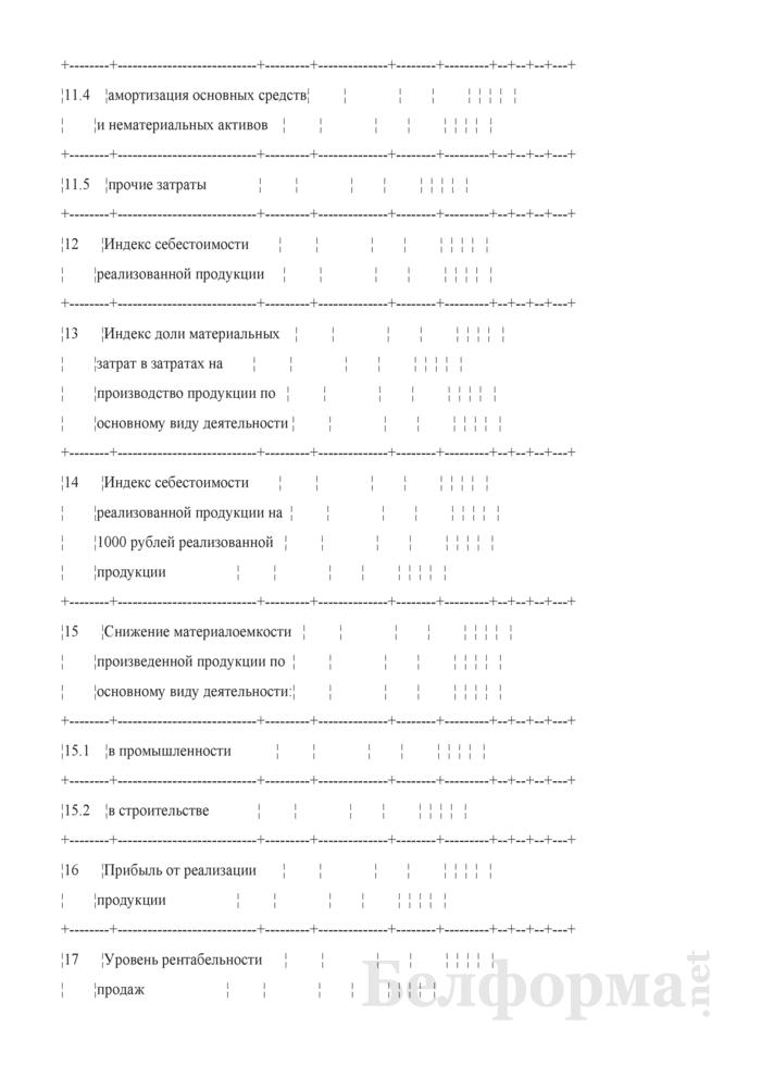 Основные показатели развития коммерческой организации на очередной год (для коммерческих организаций коммунальной собственности города Минска, негосударственных коммерческих организаций, акции (доли) которых принадлежат городу Минску). Страница 3