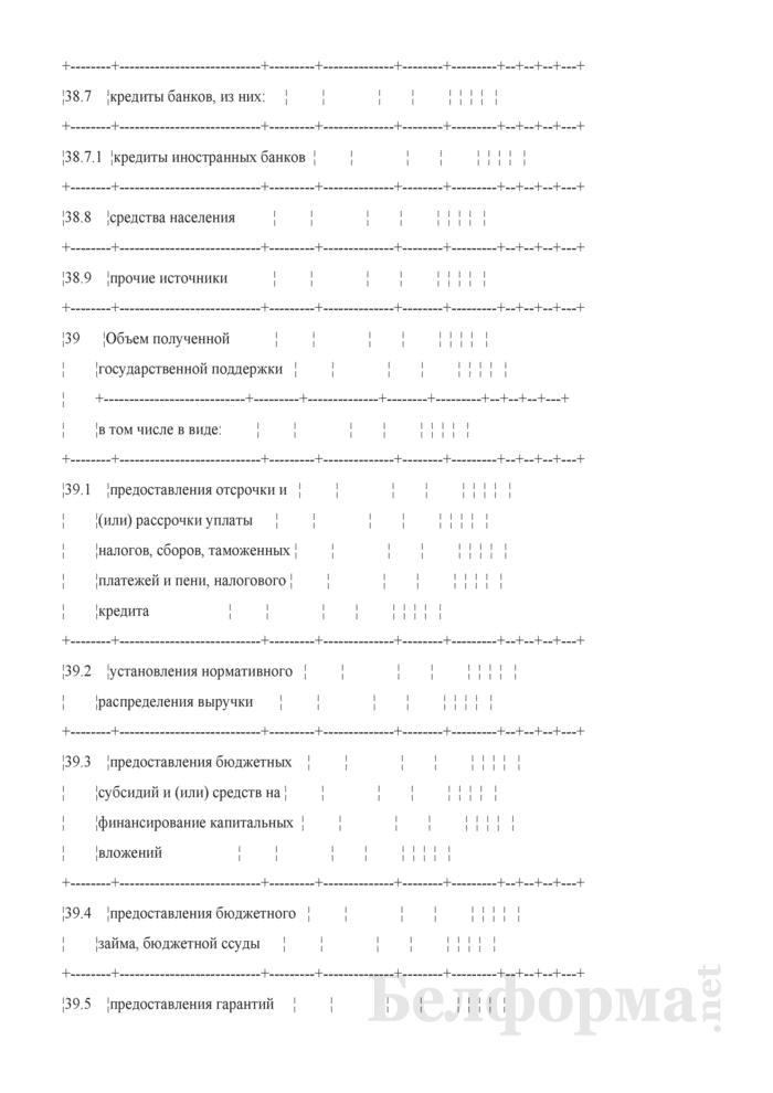 Основные показатели развития коммерческой организации на очередной год (для коммерческих организаций коммунальной собственности города Минска, негосударственных коммерческих организаций, акции (доли) которых принадлежат городу Минску). Страница 7