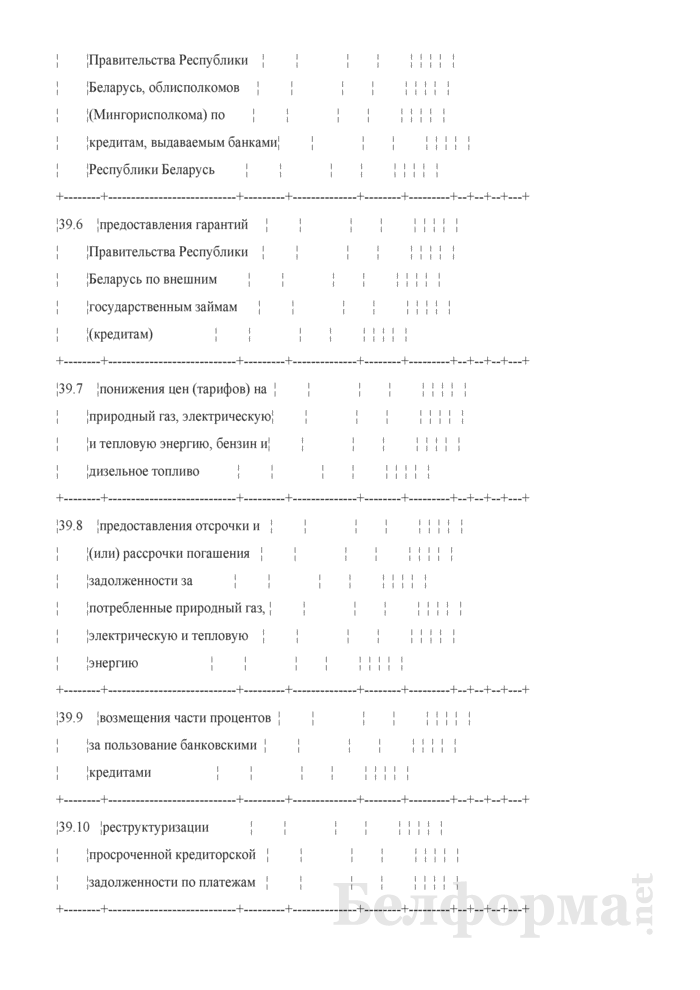 Основные показатели развития коммерческой организации на очередной год (для коммерческих организаций коммунальной собственности города Минска, негосударственных коммерческих организаций, акции (доли) которых принадлежат городу Минску). Страница 8