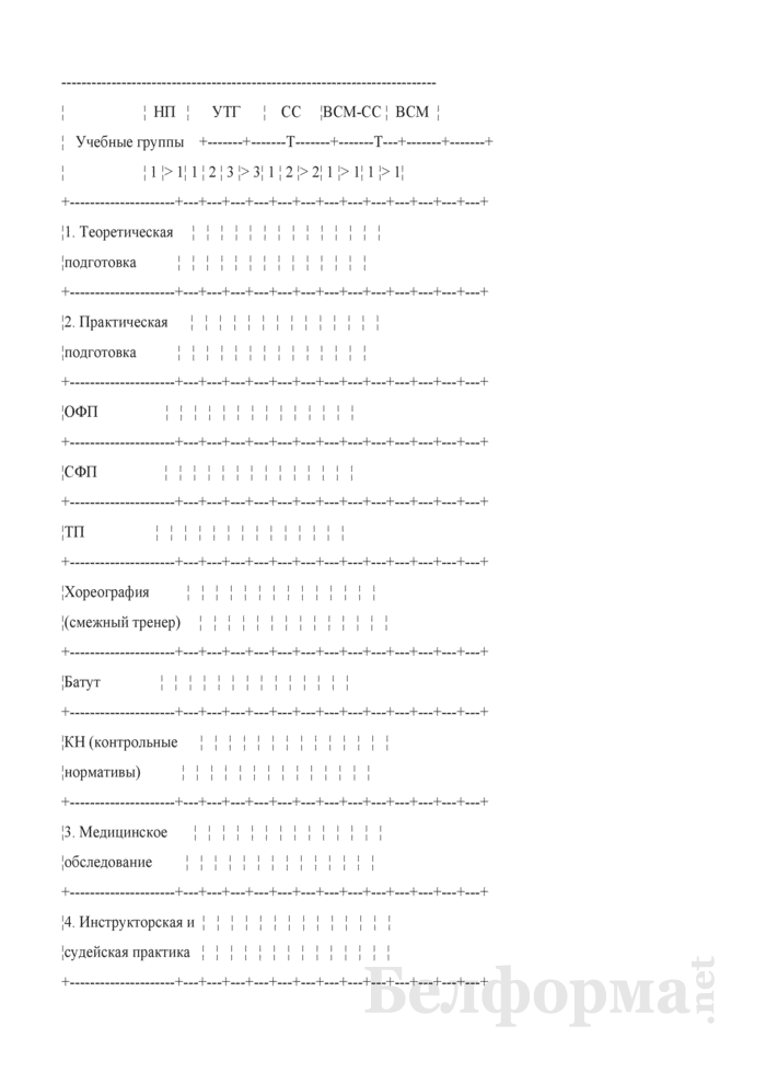 Учебный план-график на 2012 - 2013 учебный год. Страница 1