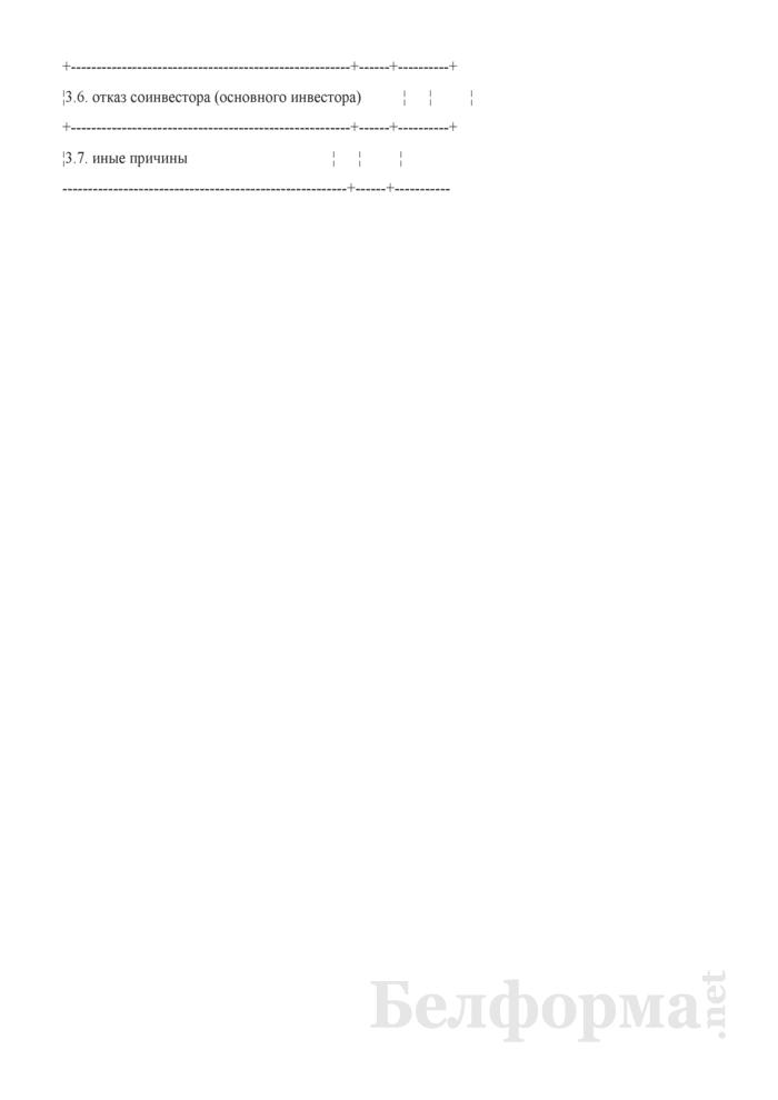 Информация о причинах невыполнения организацией объемов финансирования технических мероприятий по модернизации, включенных в бизнес-план развития организации, за отчетный период. Страница 3