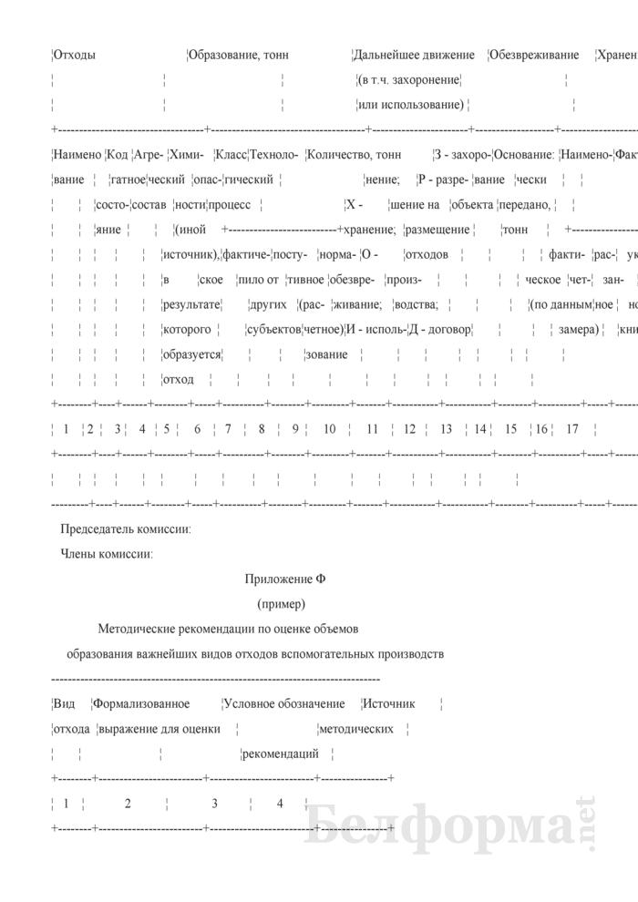 Инструкция по обращению с отходами производства. Страница 54