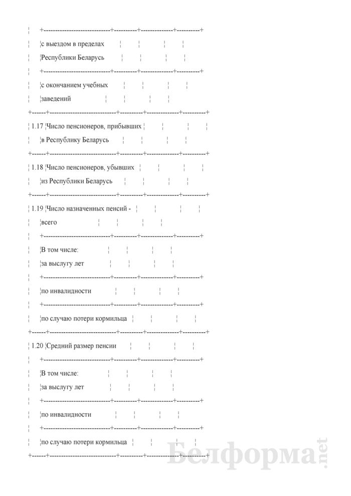 Сведения о численности и составе пенсионеров. Страница 12