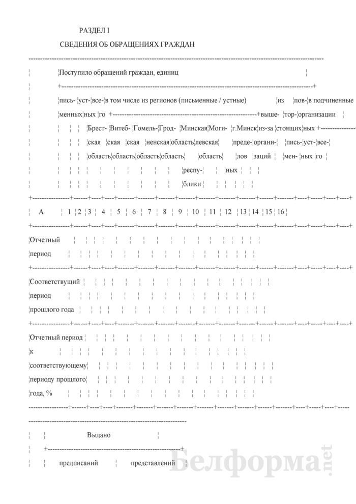 Отчет об обращениях граждан (утвержденный Минкультуры). Страница 2