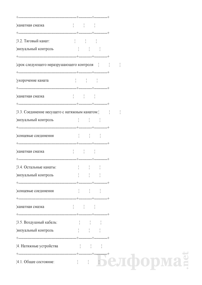Протокол ежегодного технического освидетельствования. Страница 4