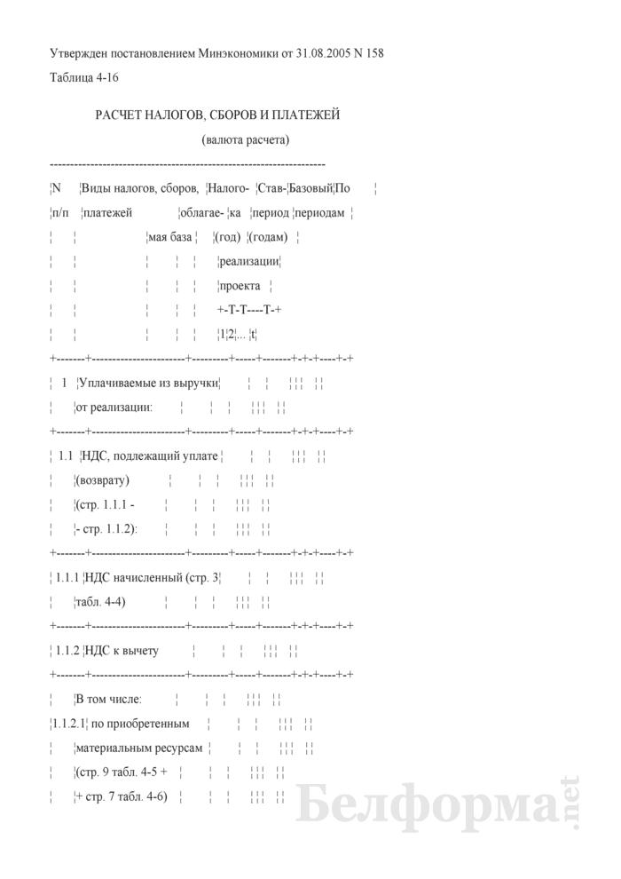 Расчет налогов, сборов и платежей (при разработке бизнес-планов инвестиционных проектов). Страница 1