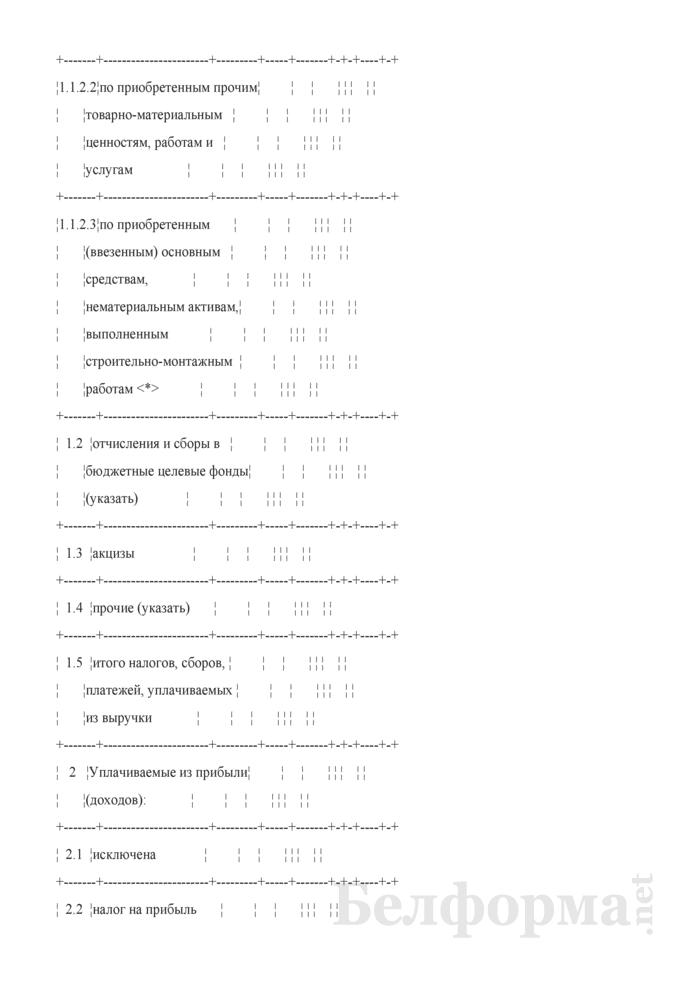 Расчет налогов, сборов и платежей (при разработке бизнес-планов инвестиционных проектов). Страница 2