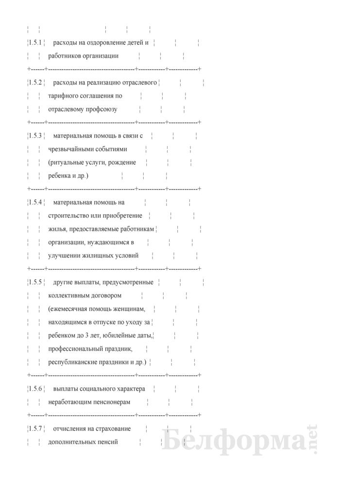 Отчет о распределении, использовании чистой прибыли и расходах на потребление (квартальная). Страница 18