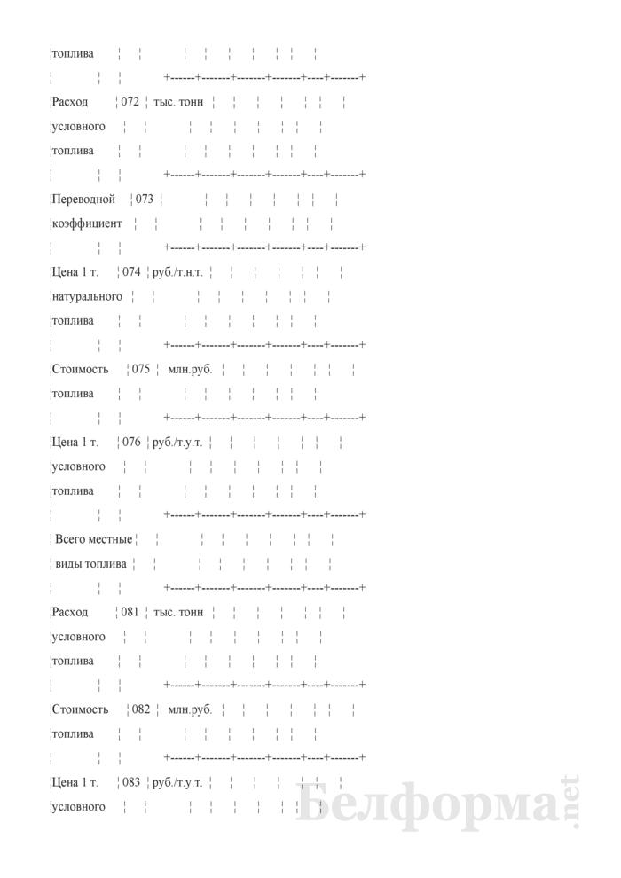 Отчет о затратах на генерацию, передачу и распределение энергии. Форма № 2-смета (годовая). Страница 11