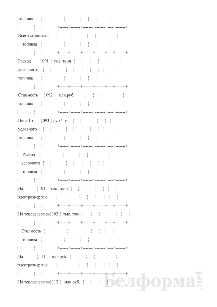 Отчет о затратах на генерацию, передачу и распределение энергии. Форма № 2-смета (годовая). Страница 12
