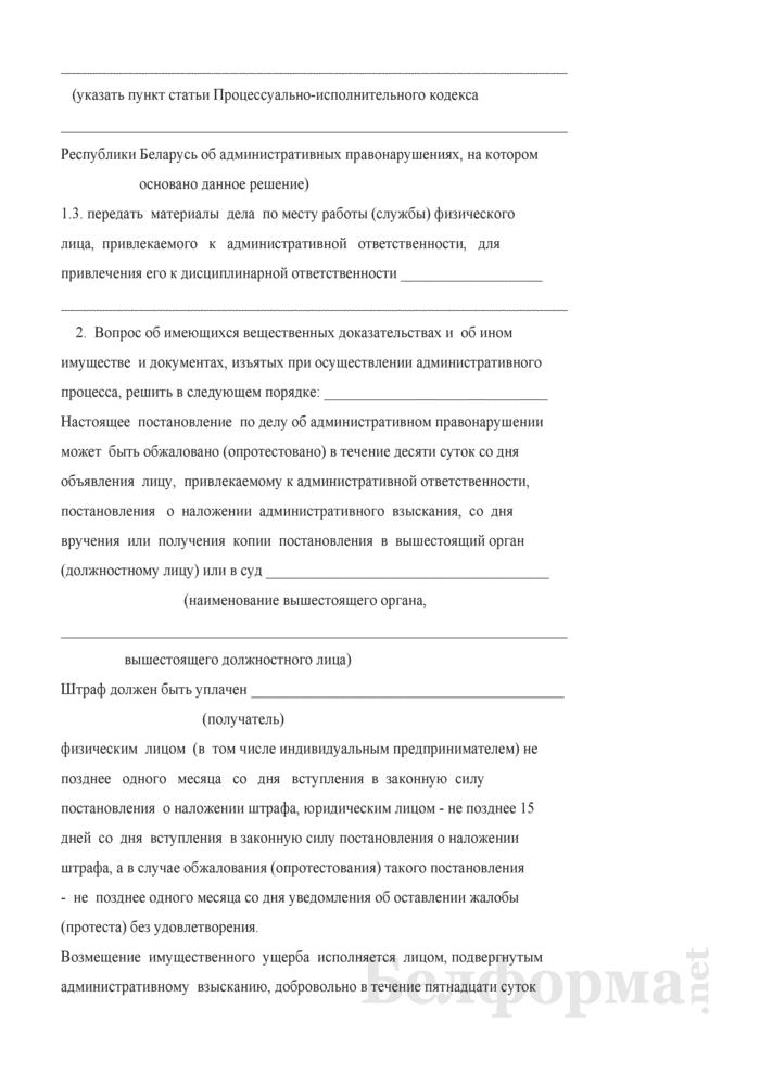 Постановление по делу об административном правонарушении (утвержденное Министерством энергетики). Страница 3