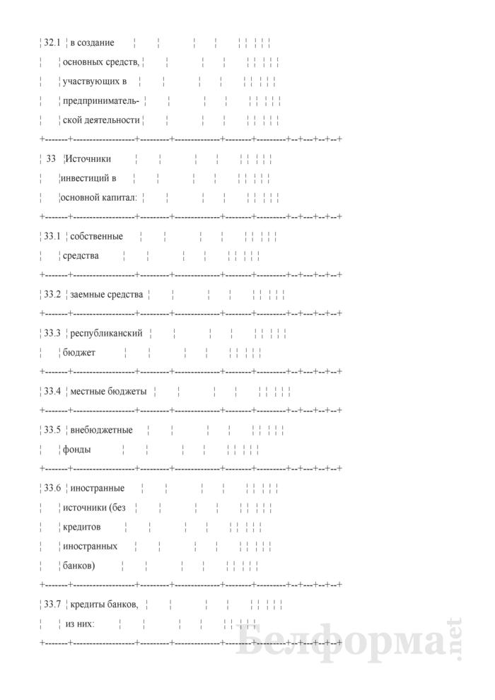 Основные показатели развития страховой организации на очередной год (Таблица 3 расчета бизнес-плана развития). Страница 8