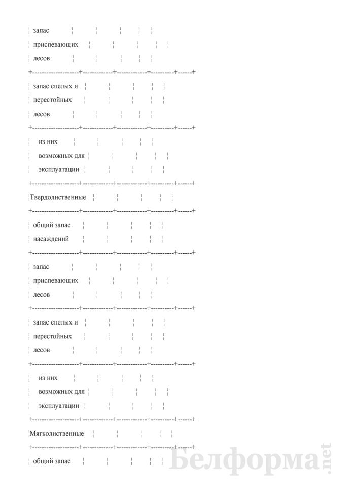 Программа пояснительной записки к сводной документации государственного учета лесного фонда. Страница 16