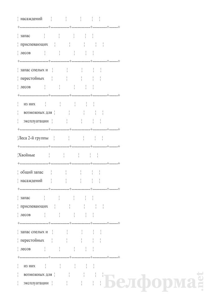 Программа пояснительной записки к сводной документации государственного учета лесного фонда. Страница 17