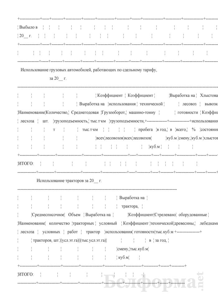 Сведения о наличии и использовании техники. Страница 6
