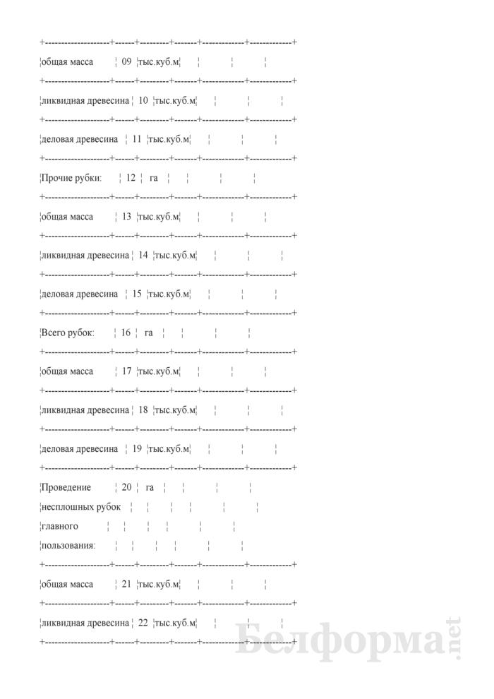 Сведения о выполнении показателей Государственной программы развития лесного хозяйства Республики Беларусь на 2011 - 2015 годы. Страница 3