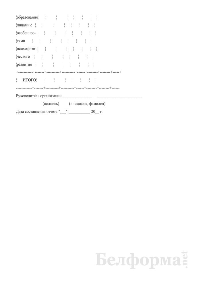 Сведения о трудоустройстве выпускников учреждений, обеспечивающих получение специального образования. Страница 6