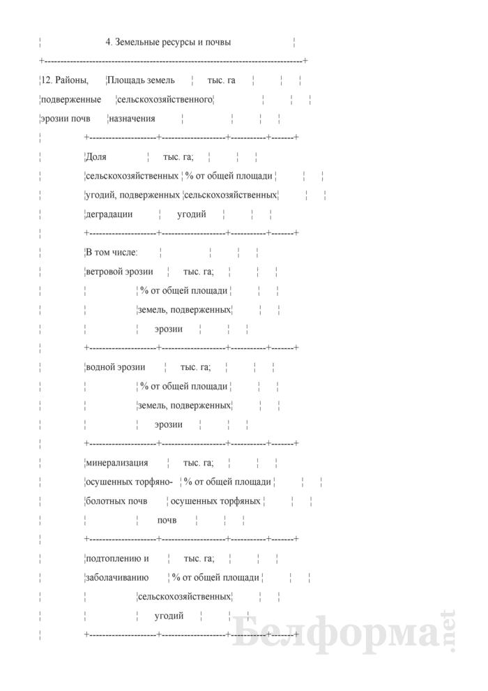 Основные экологические показатели состояния окружающей среды рассматриваемой территории. Страница 10