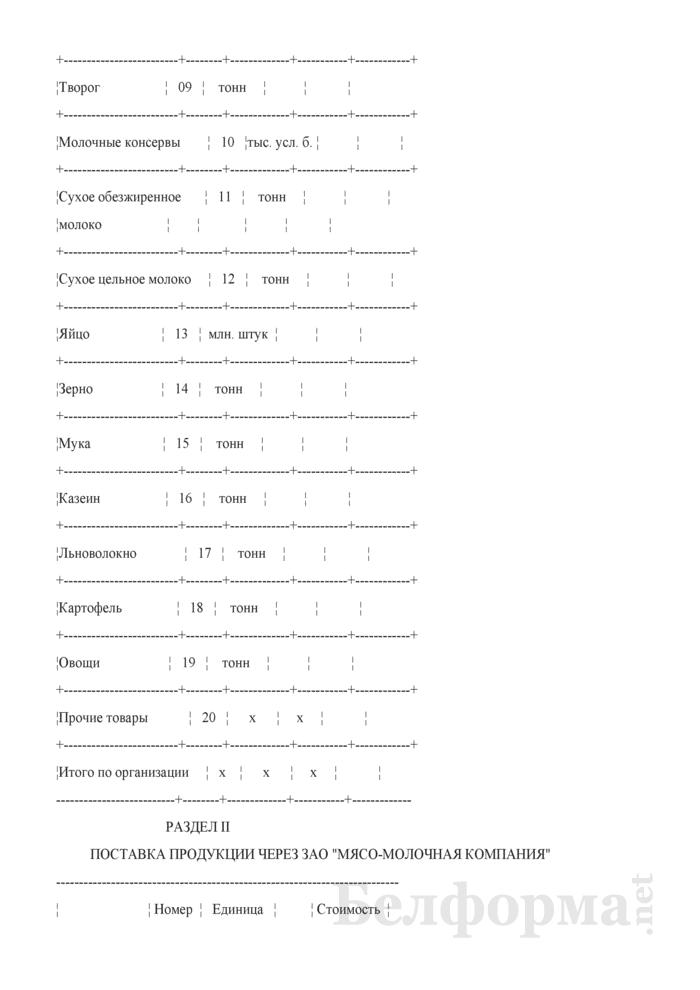 Отчет о ходе поставок товаров на экспорт (ежемесячно). Страница 4