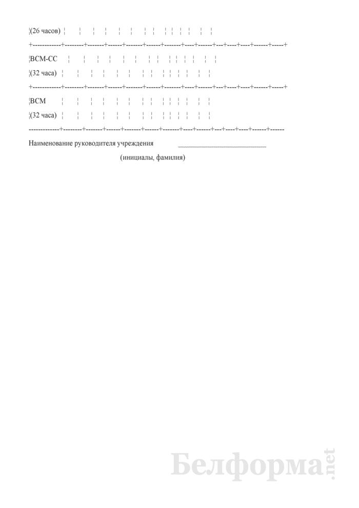 Годовой расчет часов по режиму учебно-тренировочной работы, по этапам подготовки на 2012 - 2013 учебный год. Страница 2