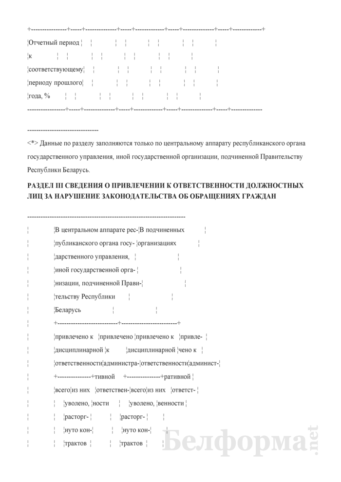 Отчет об обращениях граждан. Страница 4
