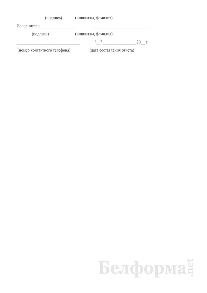 Отчет о движении контейнеров (Форма № КЭО-3 (суточная)). Страница 5
