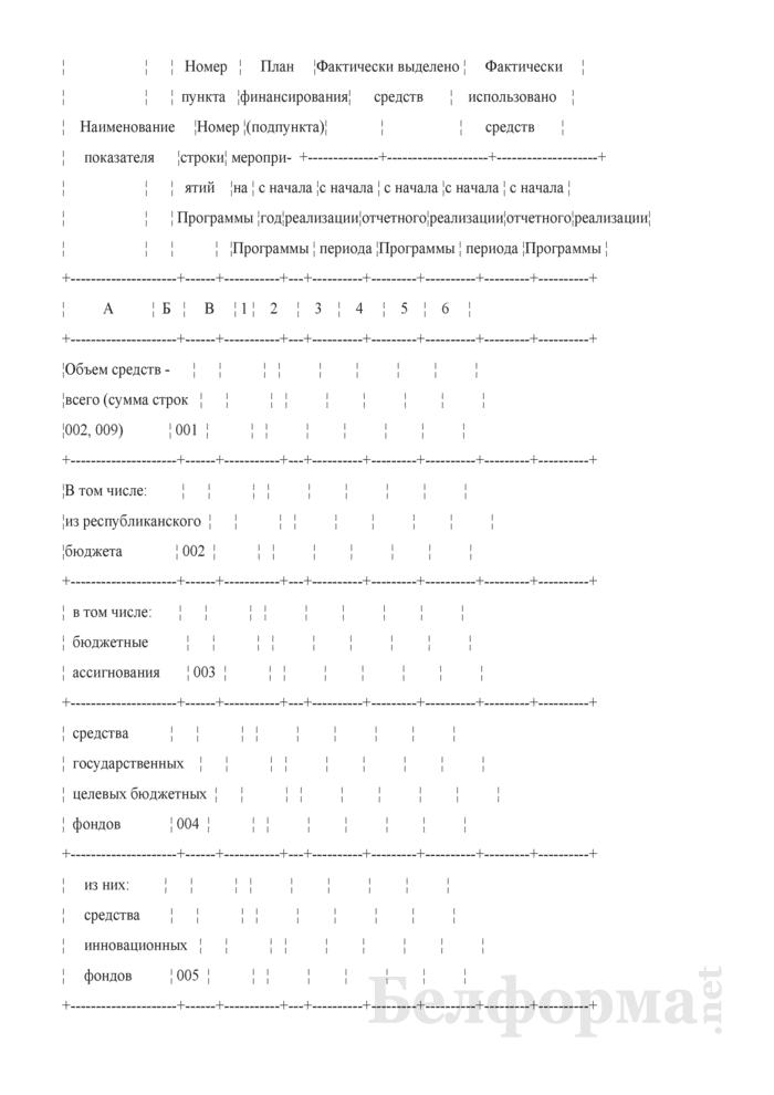 Отчет о ходе выполнения Программы развития гражданской авиации Республики Беларусь на 2011 - 2015 годы. Страница 2