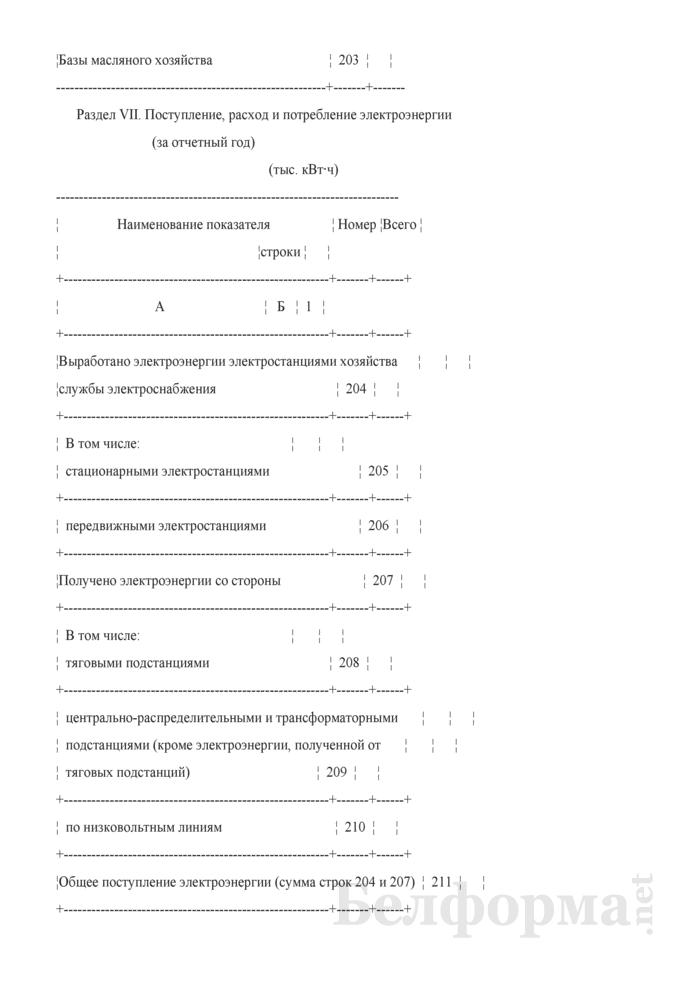 Отчет о наличии технических средств хозяйства электрификации и электроснабжения (Форма № АГО-9 (годовая)). Страница 18