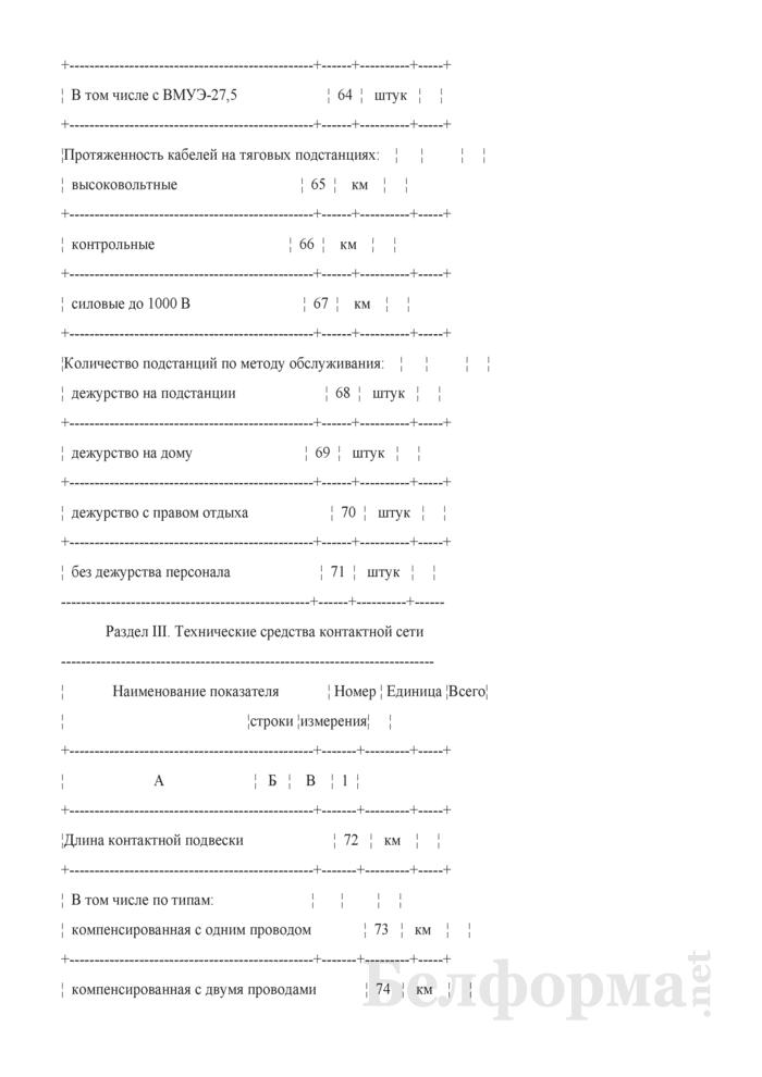 Отчет о наличии технических средств хозяйства электрификации и электроснабжения (Форма № АГО-9 (годовая)). Страница 7