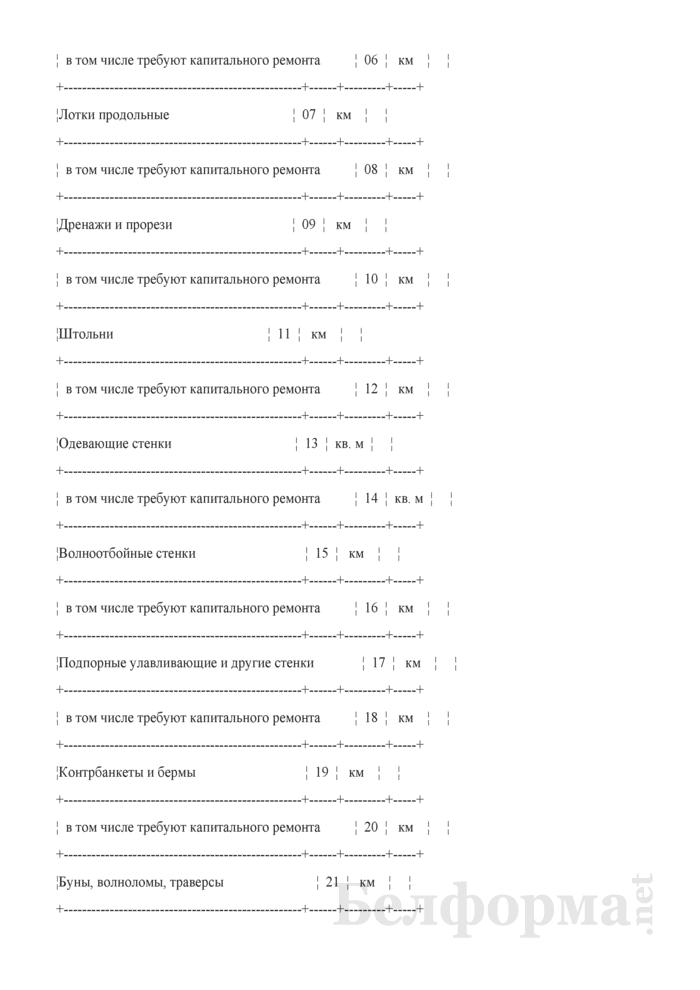 Отчет о путевом хозяйстве (железнодорожные пути общего пользования) (Форма № АГО-1 (годовая)). Страница 11