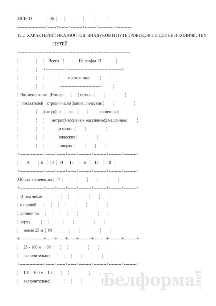 Отчет о путевом хозяйстве (железнодорожные пути общего пользования) (Форма № АГО-1 (годовая)). Страница 29