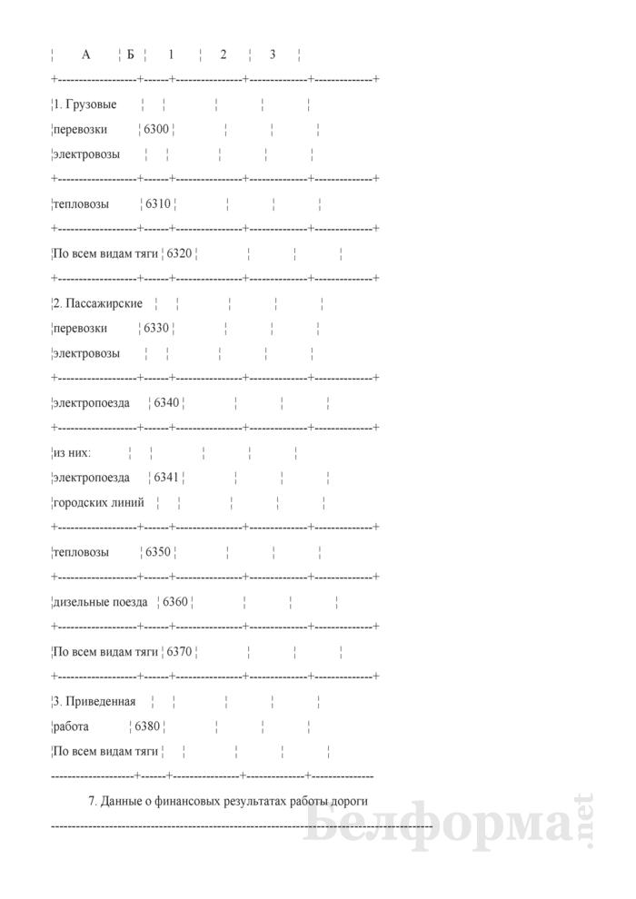 Отчет по основным показателям производственно-финансовой деятельности организаций Белорусской железной дороги (по видам деятельности) (Форма № 69-жел (квартальная)). Страница 106