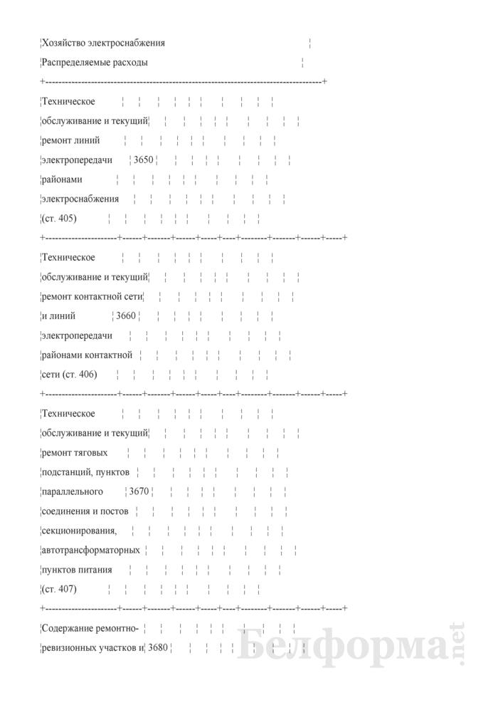 Отчет по основным показателям производственно-финансовой деятельности организаций Белорусской железной дороги (по видам деятельности) (Форма № 69-жел (квартальная)). Страница 59
