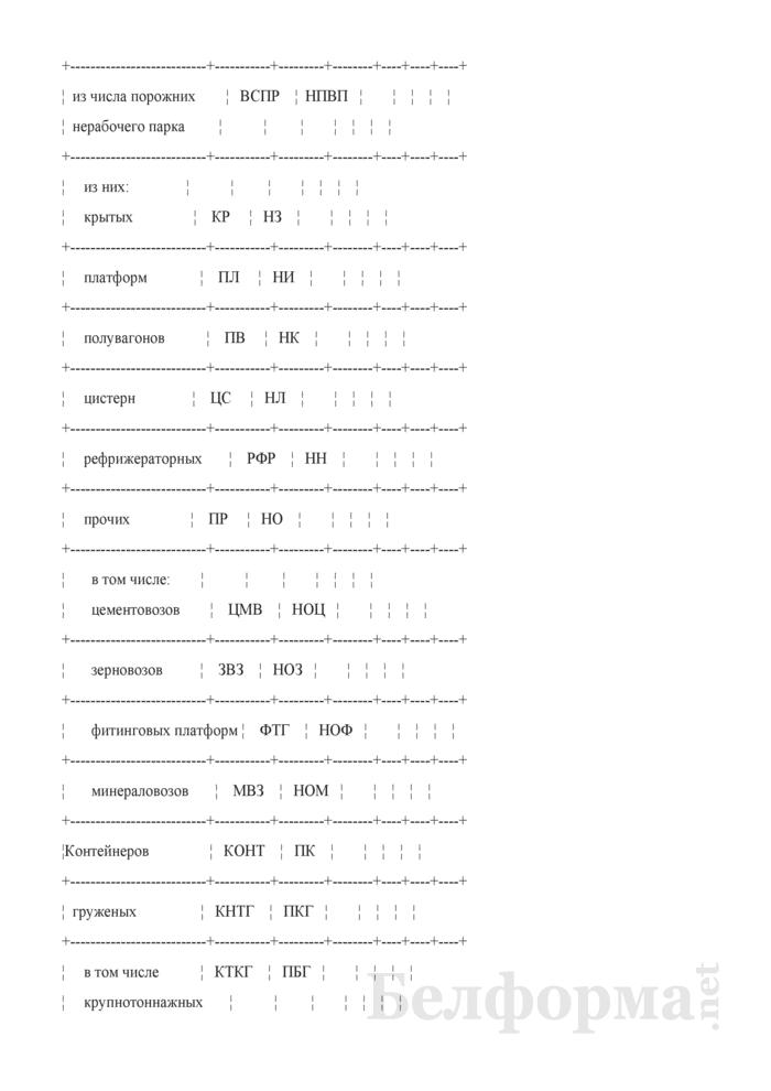 Приложение к отчету формы ДО-1 (отделение). Страница 3