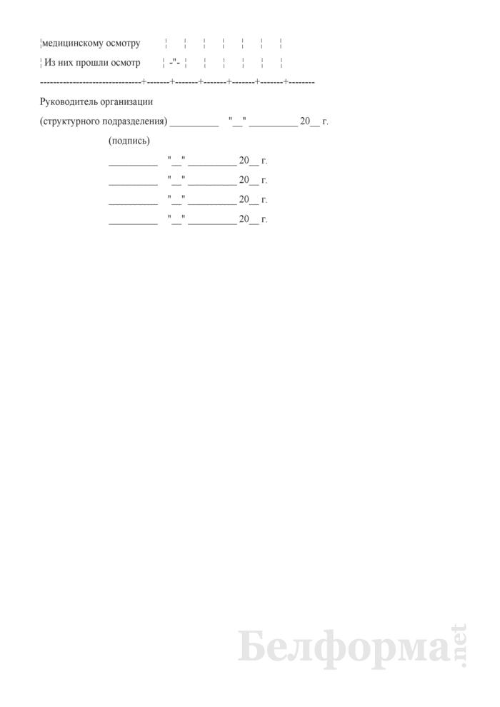 Типовой паспорт санитарно-технического состояния условий и охраны труда организации (структурного подразделения). Страница 7