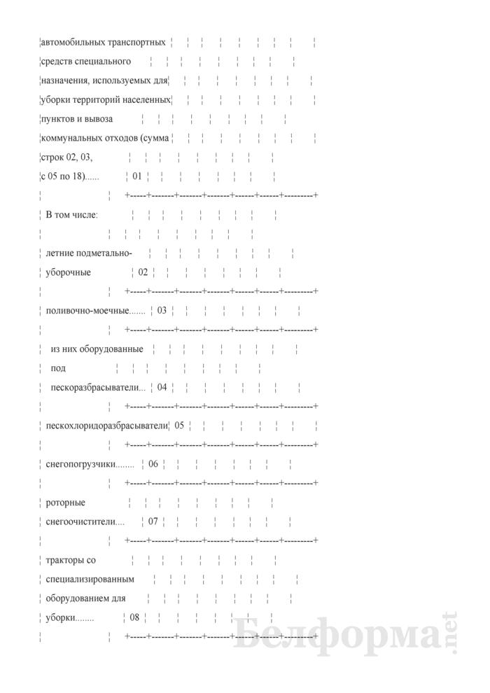 Отчет о санитарной очистке населенных пунктов (годовая). Страница 4