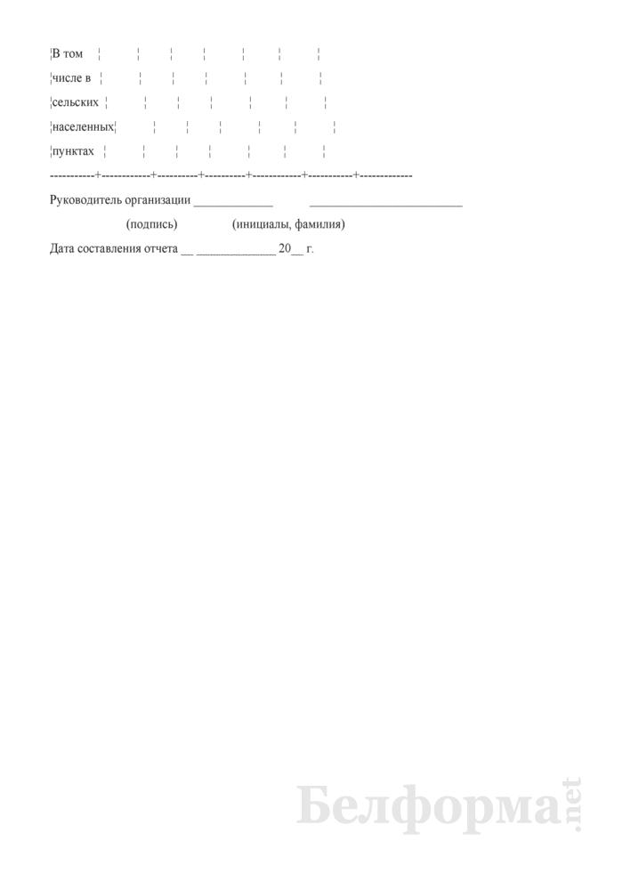 Сведения о передаче-приеме жилищного фонда, объектов тепло-, водоснабжения и водоотведения из республиканской в коммунальную собственность (полугодовая). Страница 4