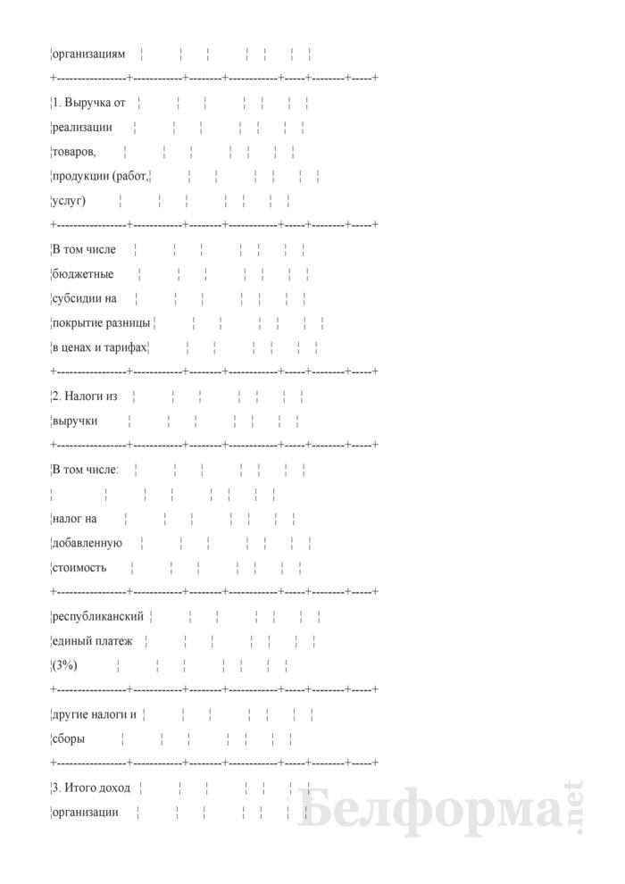 Сведения о затратах на производство и реализацию продукции (работ, услуг) (квартальная). Страница 8