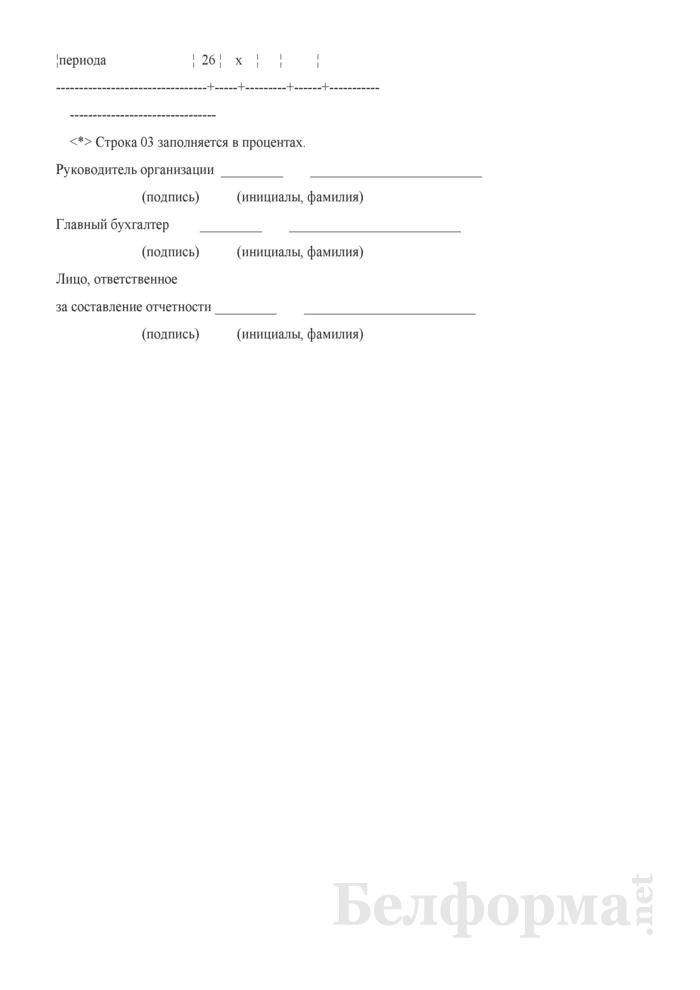 Отчет о распределении и использовании чистой прибыли и расходов на потребление. Страница 6